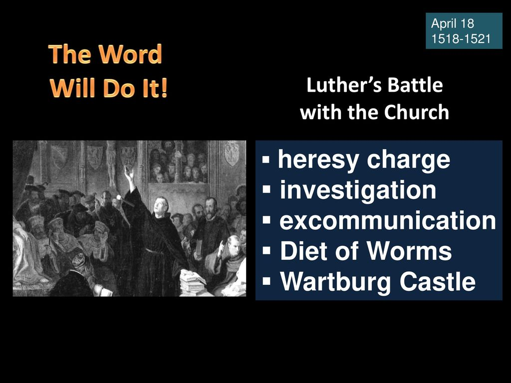 What is the church investigation in the fight against heretics