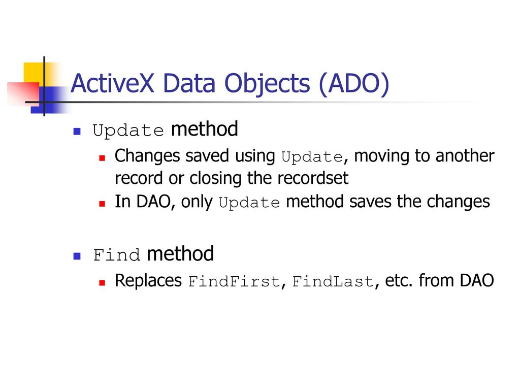 Microsoft activex data objects 6 library download trlivin.