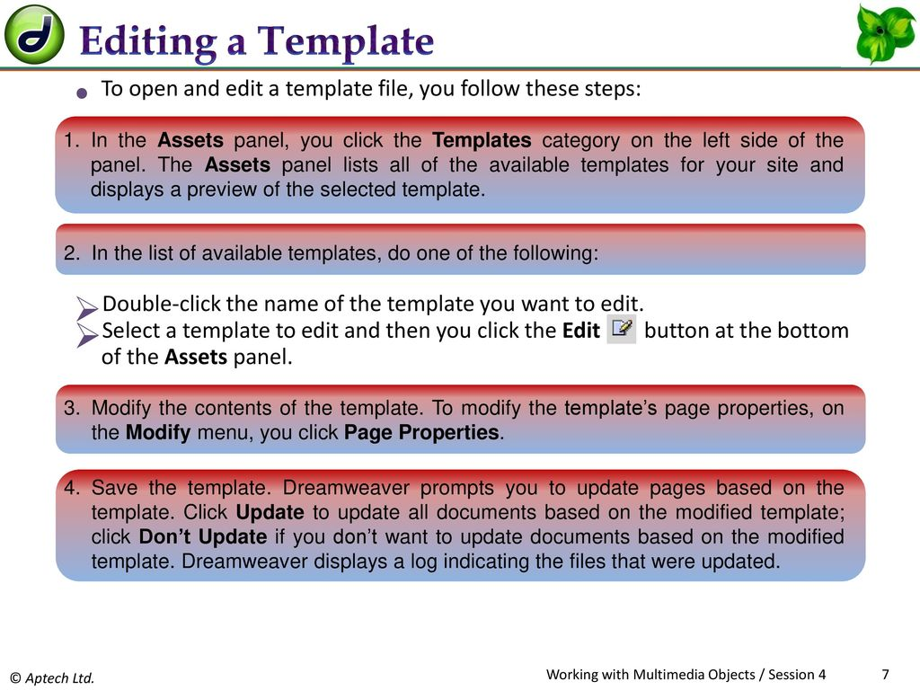 Apply templates to various documents modify templates ppt download 7 editing maxwellsz