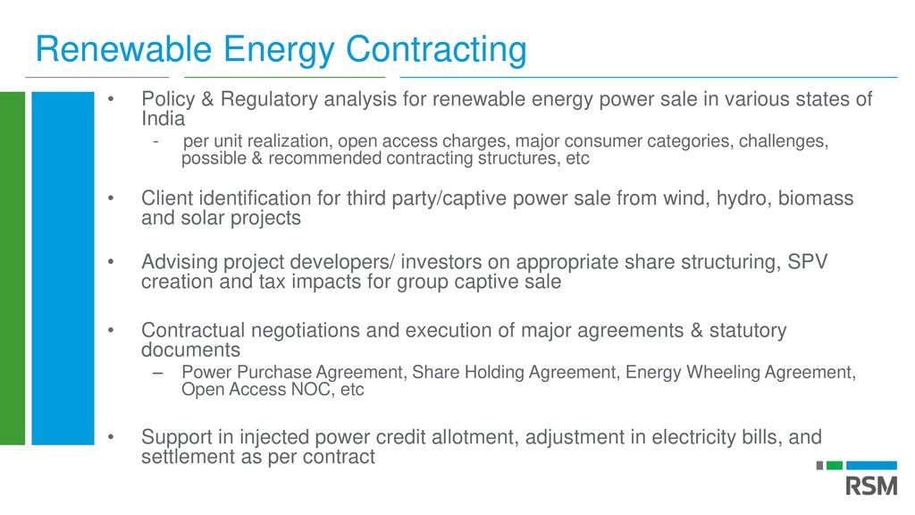 Renewable Energy Re Power Contracting Trading Ppt Download