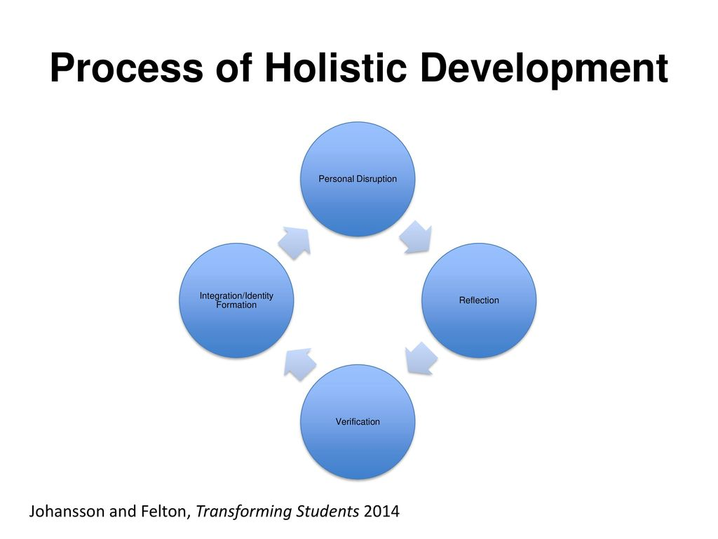 A Recipe For Holistic Development Ppt Download