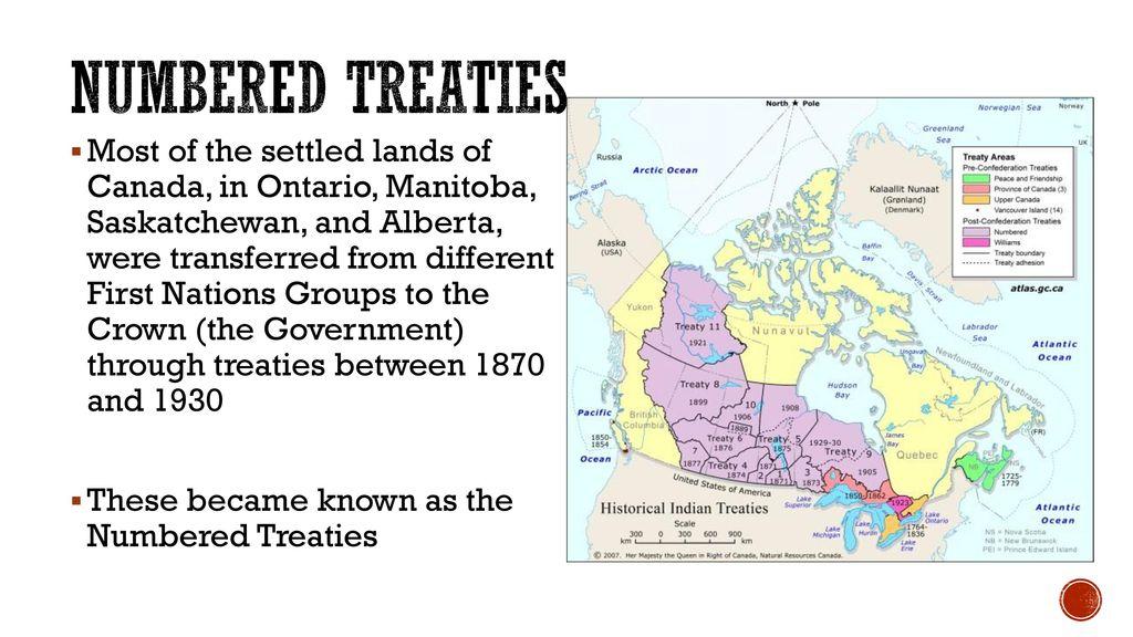 Aboriginal People & Confederation: TREATIES - ppt download