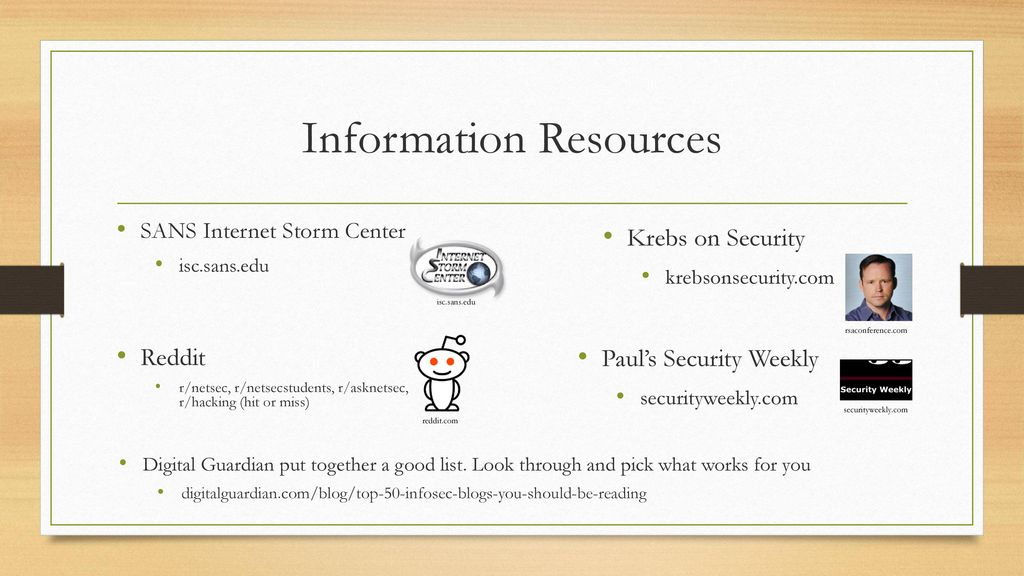Diary of a Security Noob - ppt download