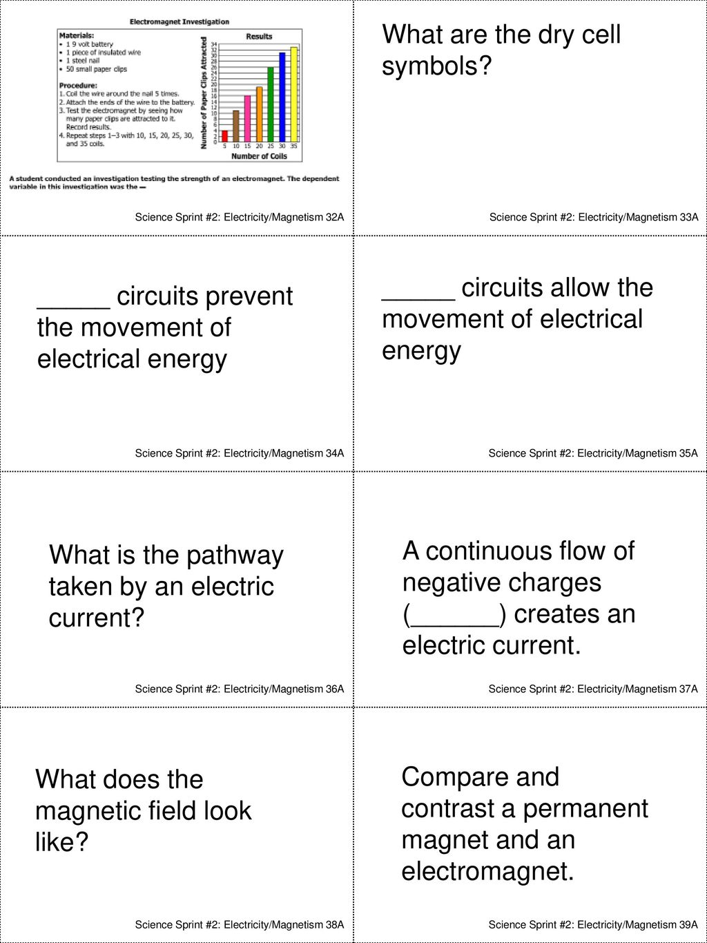 Science Sprint #2 Electricity and Magnetism - ppt download