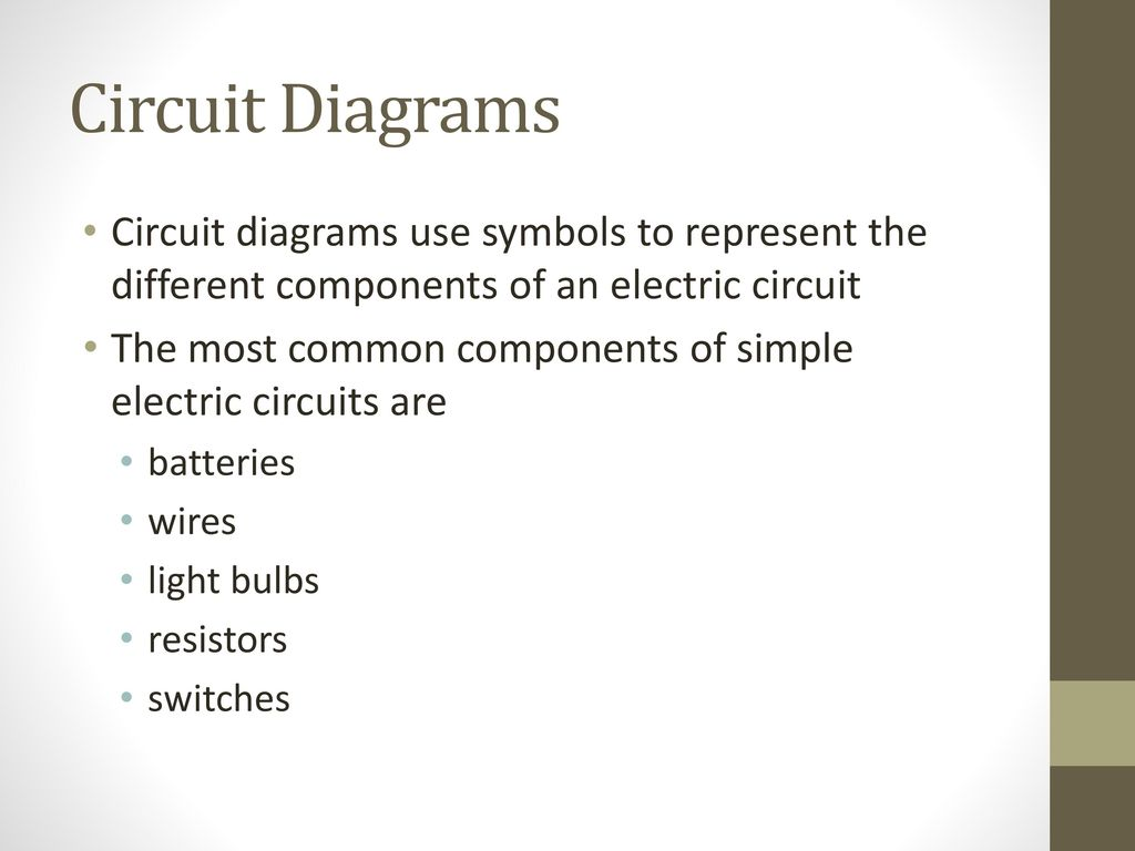 Circuit Diagrams Use Symbols To Represent The Series 1