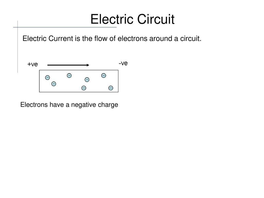 Need A Basic Understanding Of How Electricity Flows Around Circuit Electric Components Are Connected Together With Electrical 3 Current Is The Flow Electrons