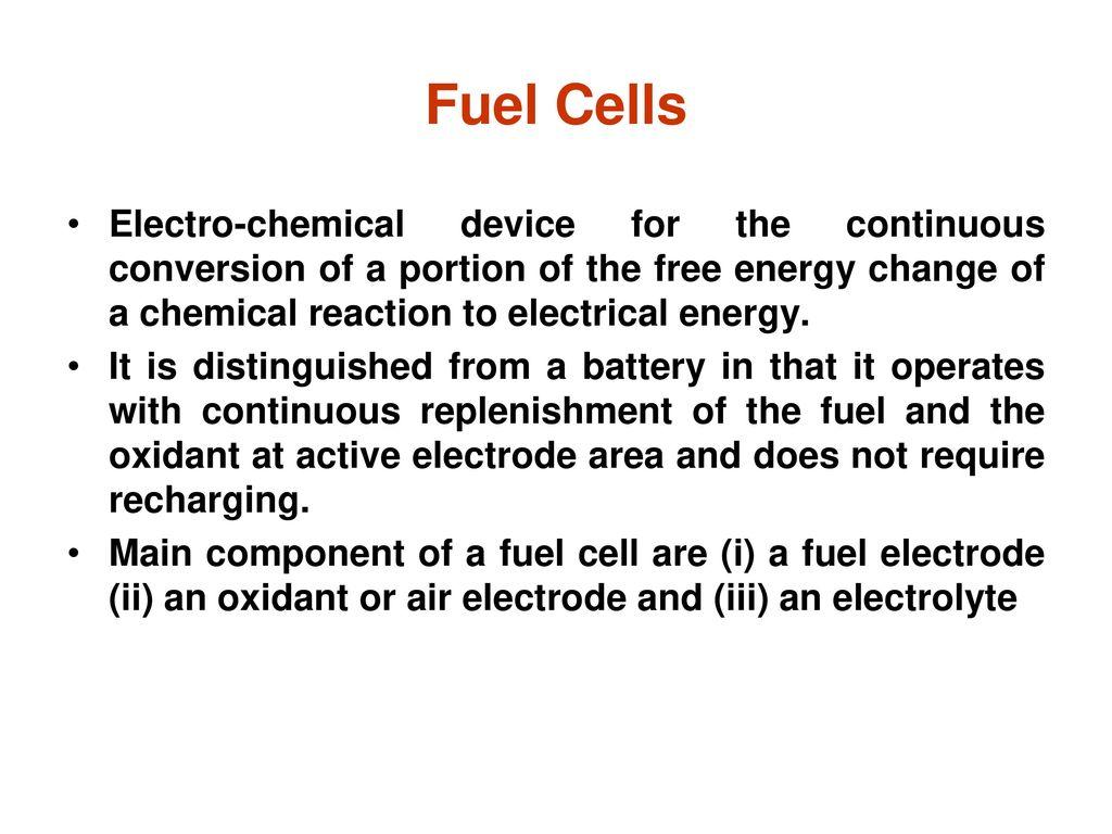 Fuel Cells  - ppt download