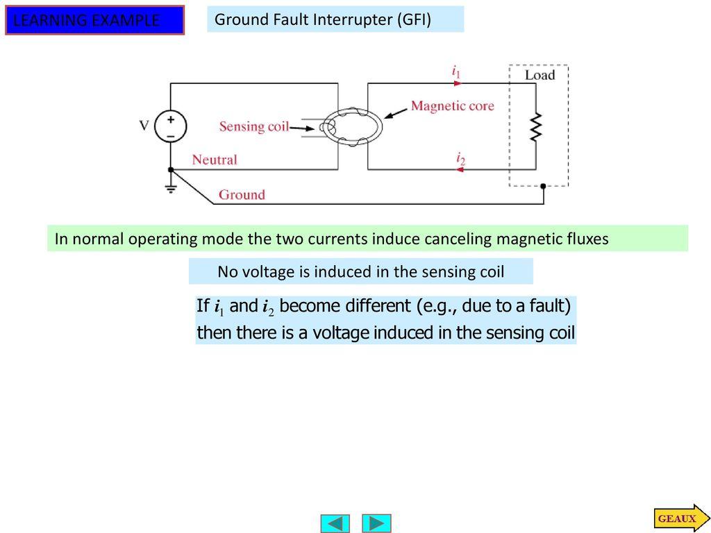 Neutral Current Is Zero Ppt Download Ground Fault Interrupter 6 No