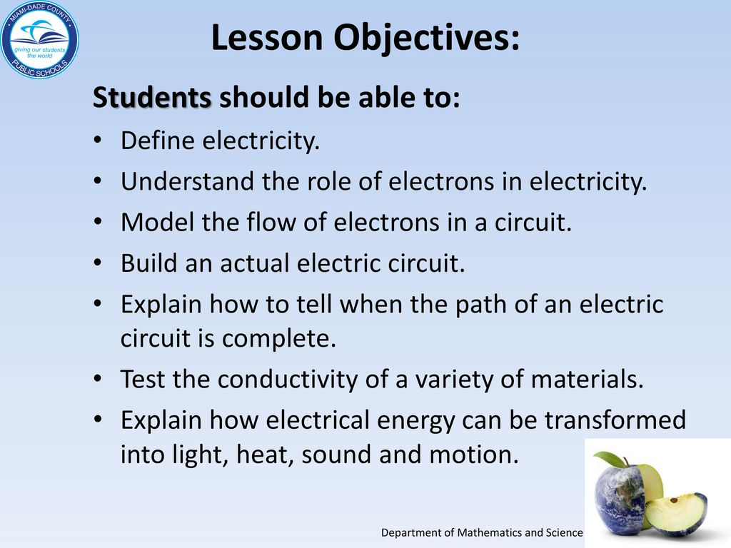 Grade 5 Electricity And Get Connected Essential Lab 7 Ppt Download How To Build A Electrical Circuit Lesson Objectives Students Should Be Able Define