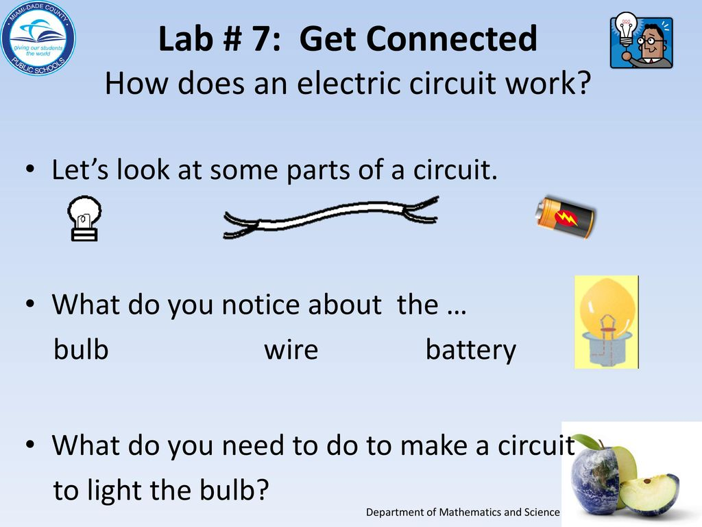 Grade 5 Electricity And Get Connected Essential Lab 7 Ppt Download How Does A Circuit Work An Electric