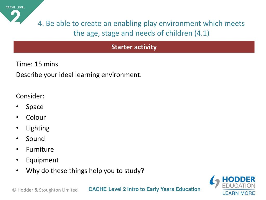 Supporting Vs Enabling Your Child With >> Unit 6 Supporting Children S Play Ppt Download