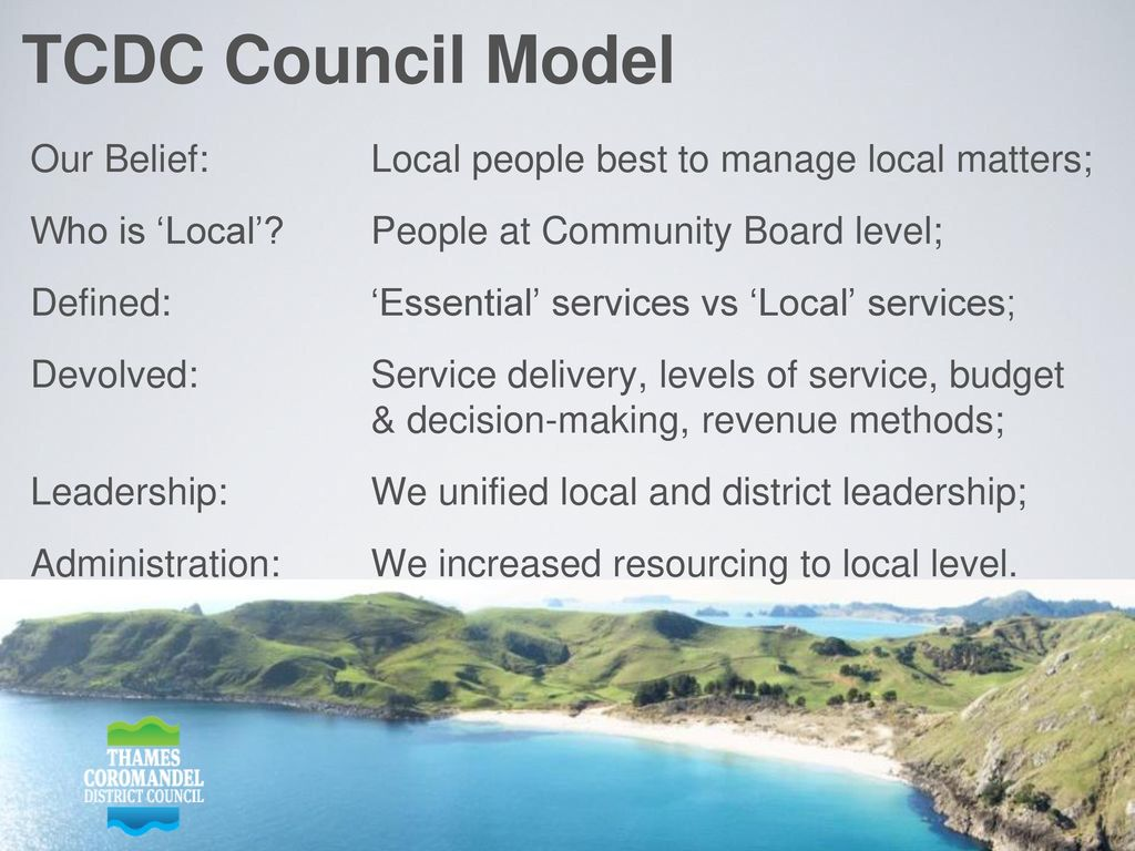 The most devolved model of local democracy in NZ - ppt download