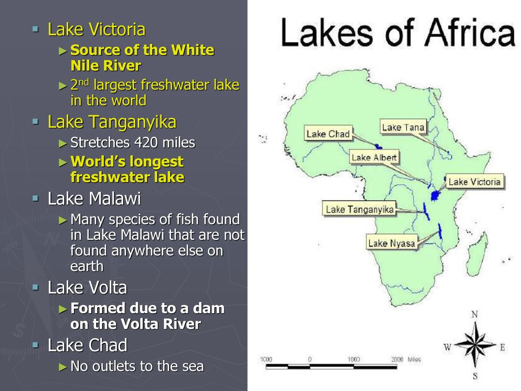 Lake Volta Africa Map.Africa Notes Ppt Download