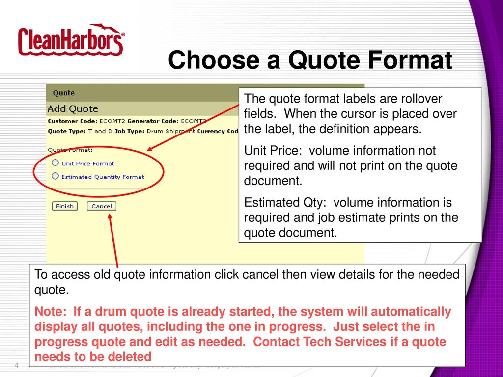 Drum Quote Management CS ppt download