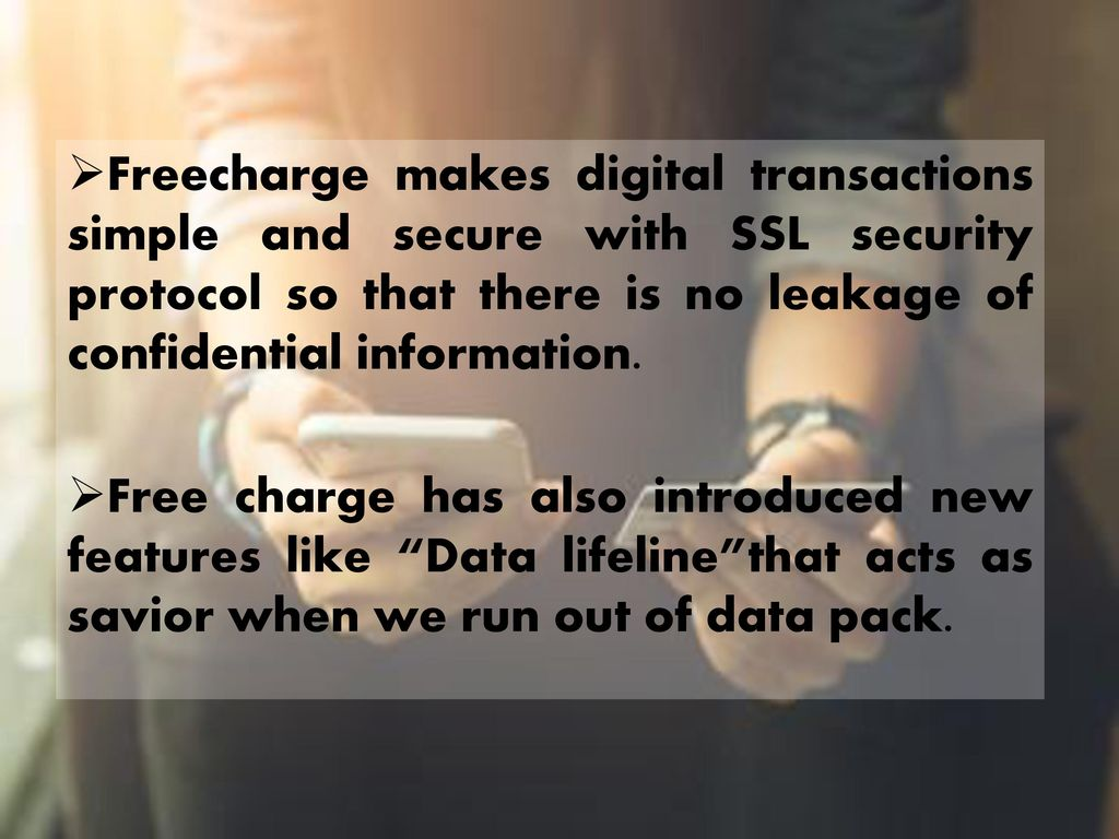 Freecharge  - ppt download