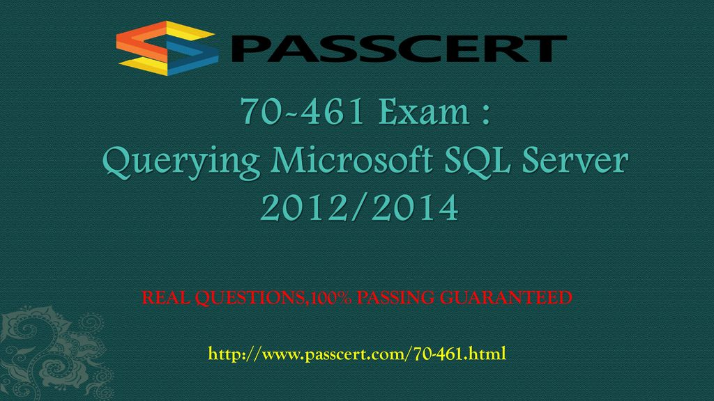 Exam Querying Microsoft Sql Server 2012 Ppt Download
