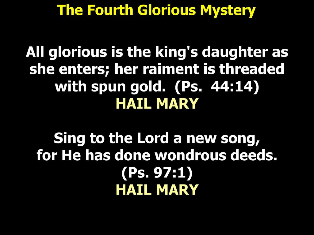 Consecration of Malaysia The Glorious Mysteries - ppt download