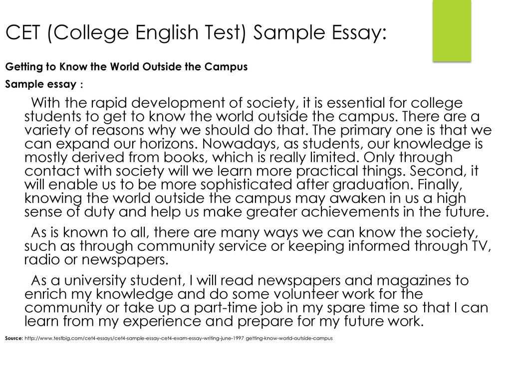 Transitions and Comparisons – CET and ECT - ppt download