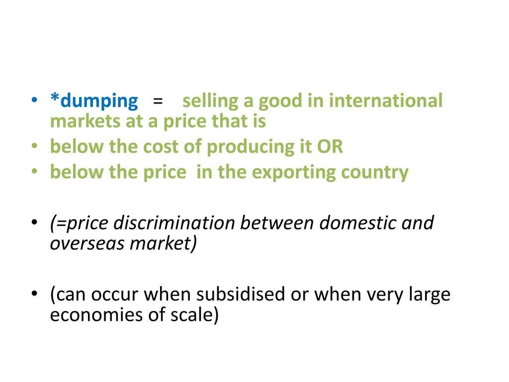Free Trade vs  Protectionism - ppt download