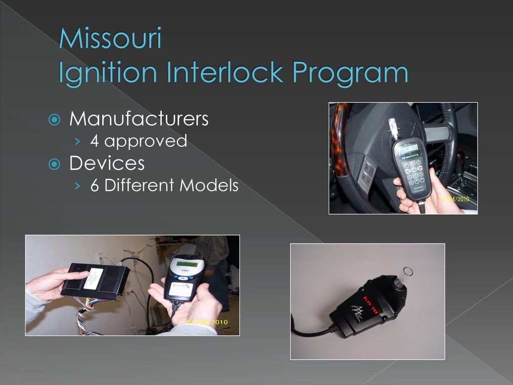 Missouri Ignition Interlock Program Ppt Download How To Bypass An Device Iid