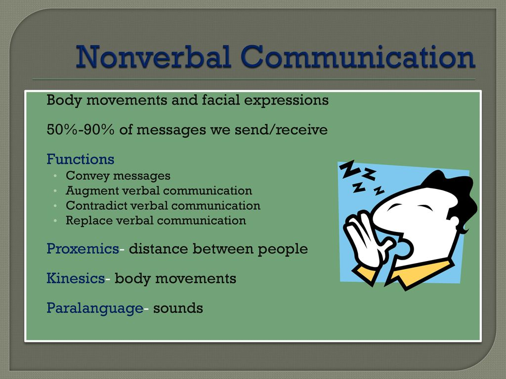 messages conveyed through body movements and facial expressions are