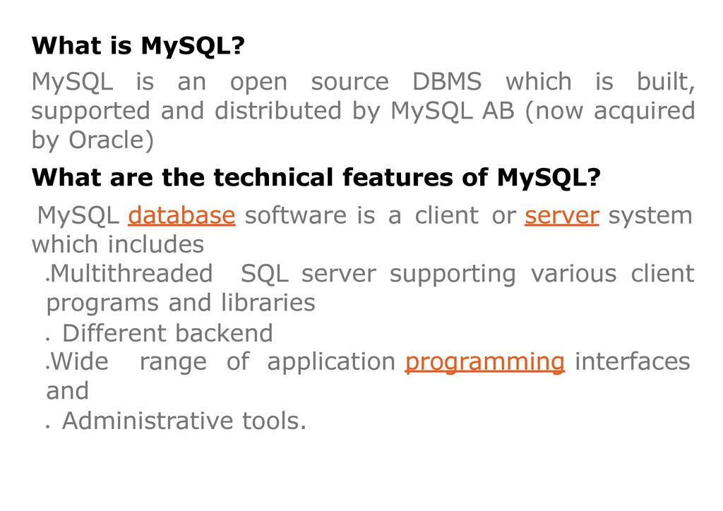 MYSQL INTERVIEW QUESTIONS AND ANSWERS - ppt download