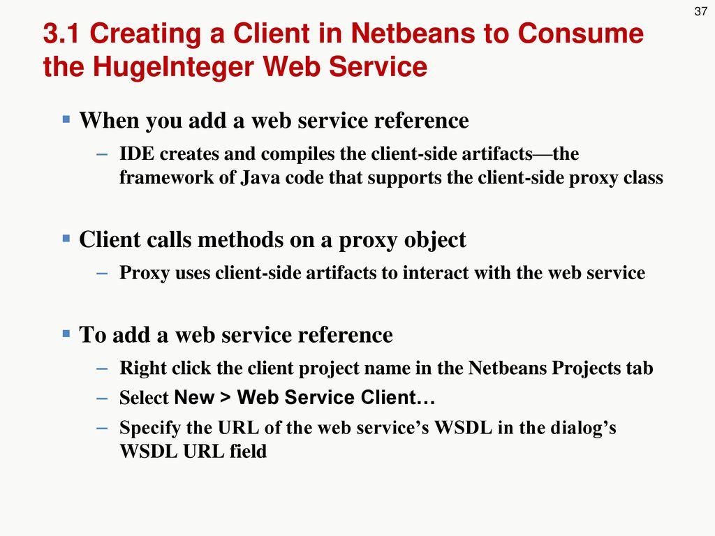 Netbeans Web Service Client From Wsdl