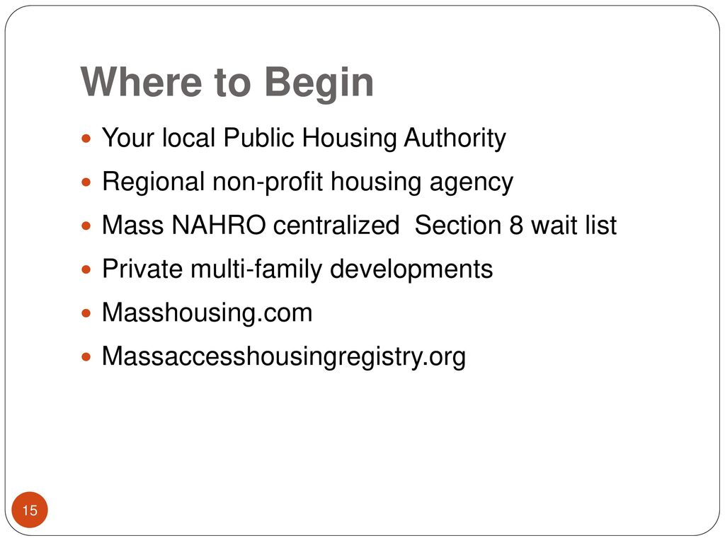 Affordable Housing for People with Disabilities - ppt download