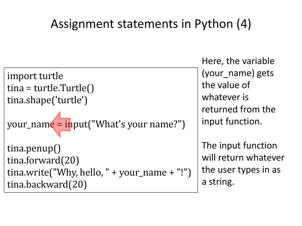 Introduction to Programming: Module #2 Python, Trinket, and