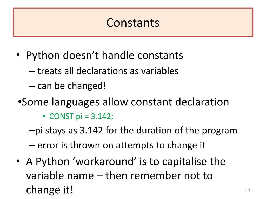 Python 3 x Programming Key Stages 1-5 (OCR/AQA) - ppt download
