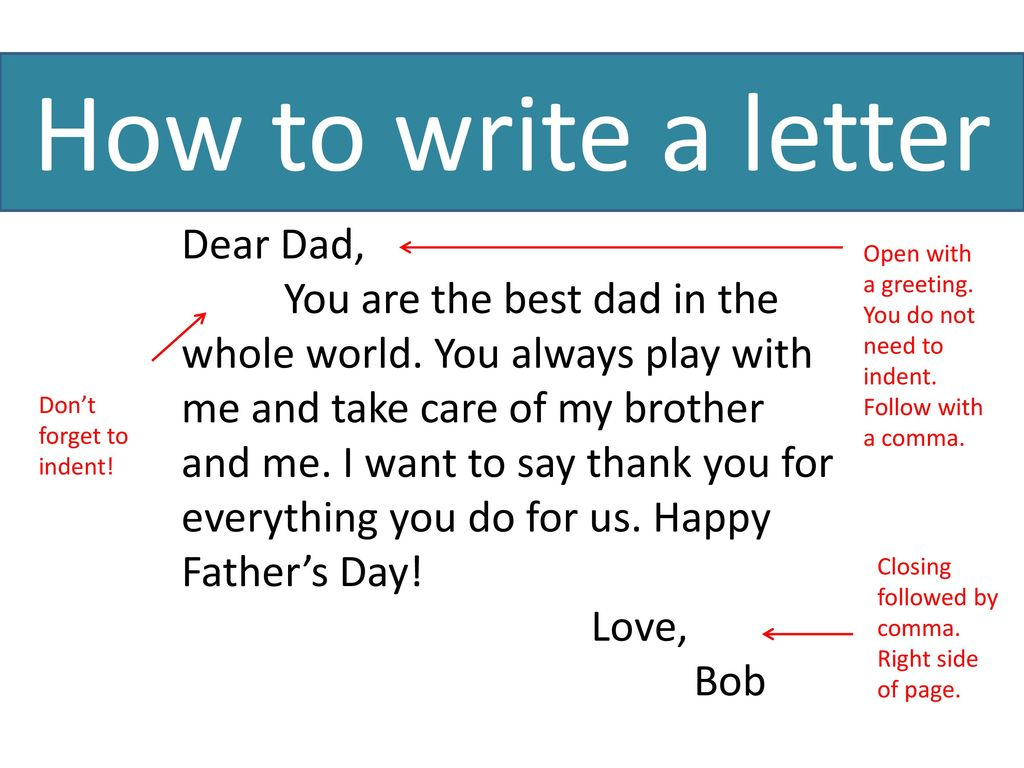 We Will Be Writing A Letter To Your Mom For Mothers Day Ppt Download