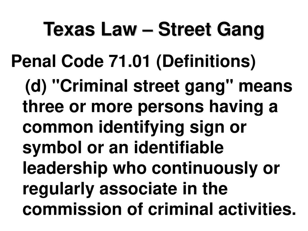 Crime Prevention Identifying And Addressing A Gang Problem Ppt