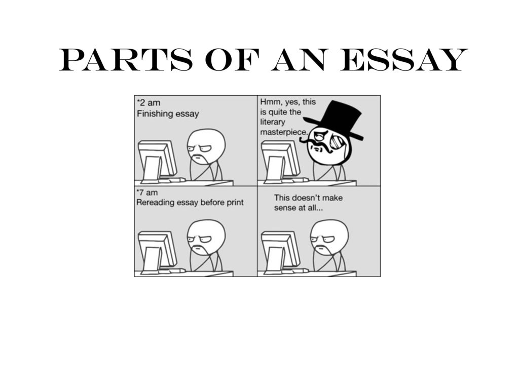 Parts Of An Essay  Ppt Download Presentation On Theme Parts Of An Essay Presentation Transcript  Parts  Of An Essay