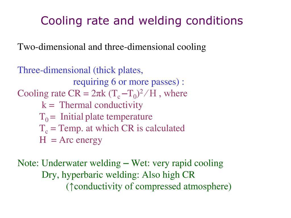 Welding Metallurgy Of Steels Ppt Download Underwater Diagram 13 Two Dimensional