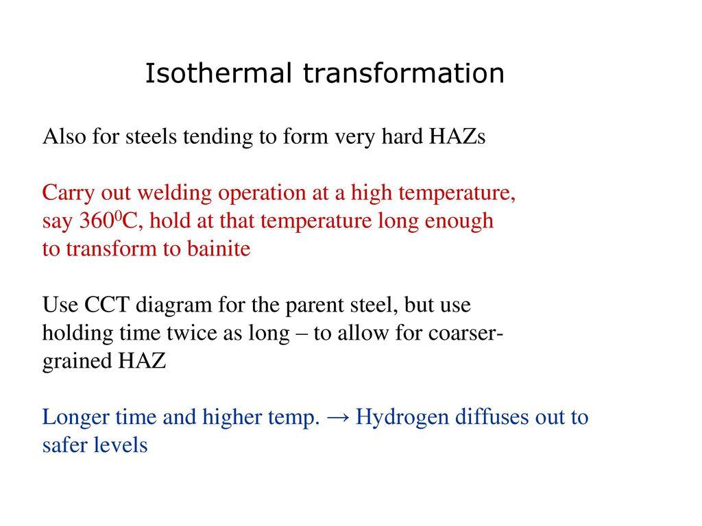Welding Metallurgy Of Steels Ppt Download Hyperbaric Diagram 79 Also
