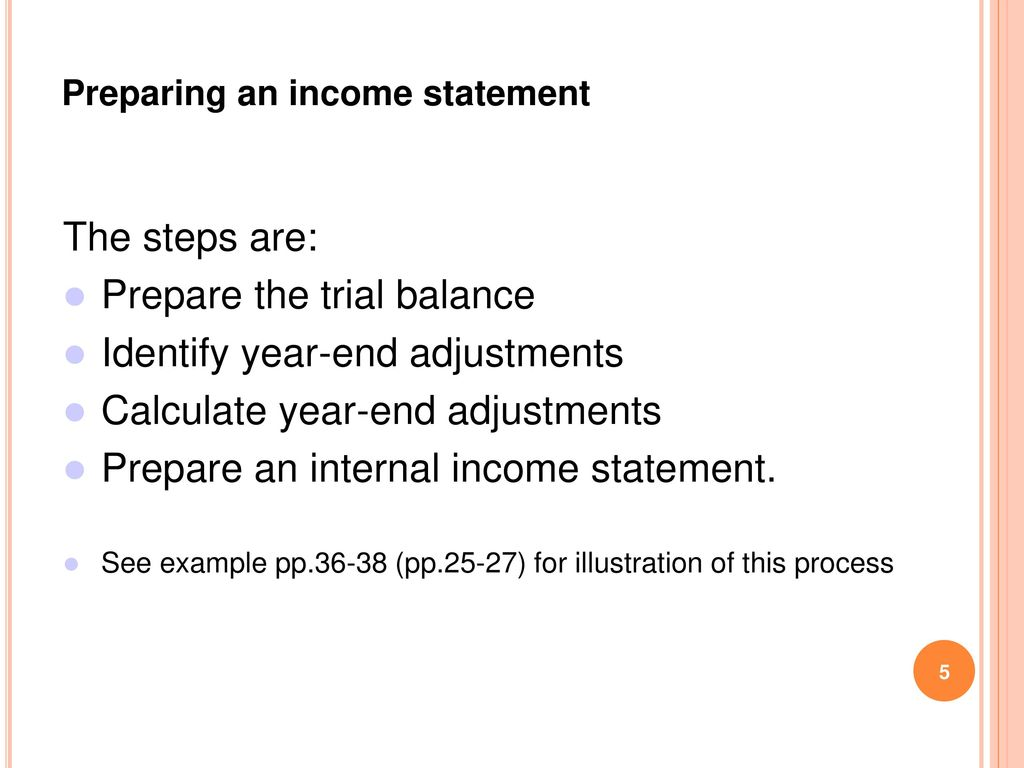 Chapter 3 Preparation of Financial Statements - ppt download