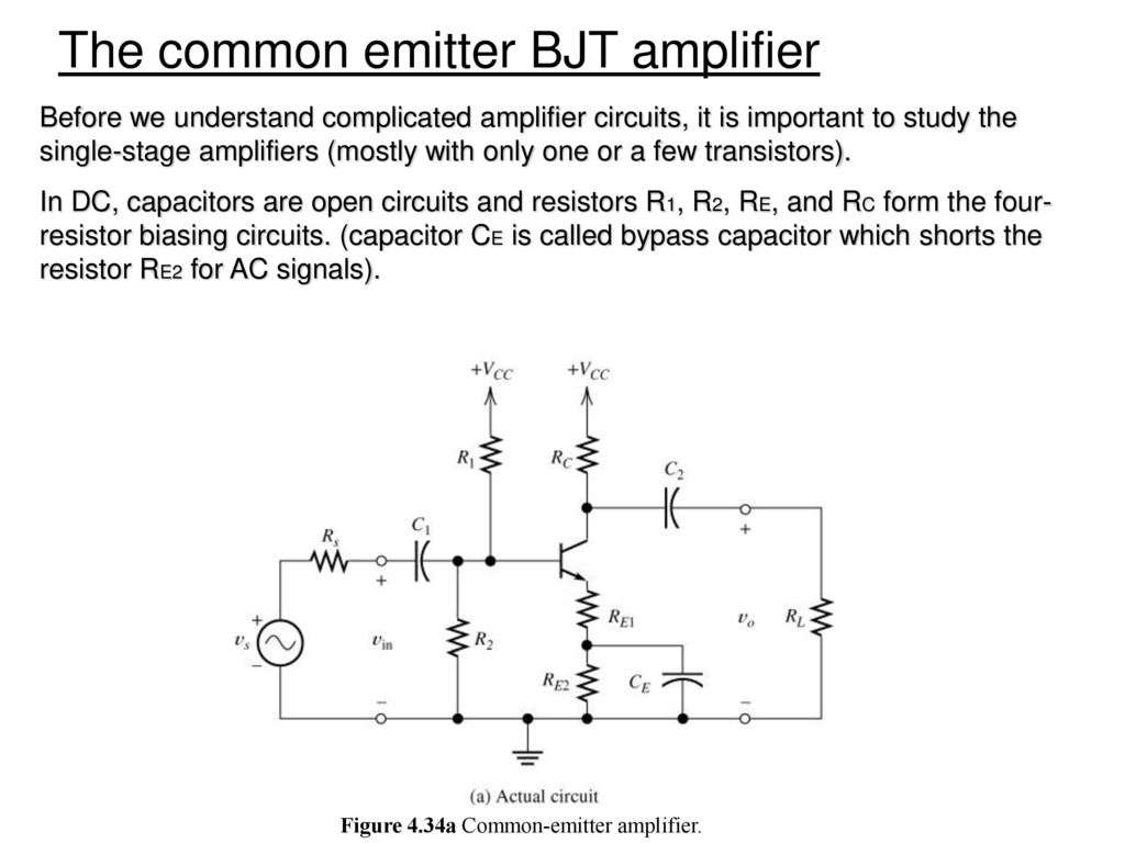 Chapter 3 Diode And Circuits Ppt Download Tutorial Part Commoncollector Amplifiers Sample Figure 434a Common Emitter Amplifier