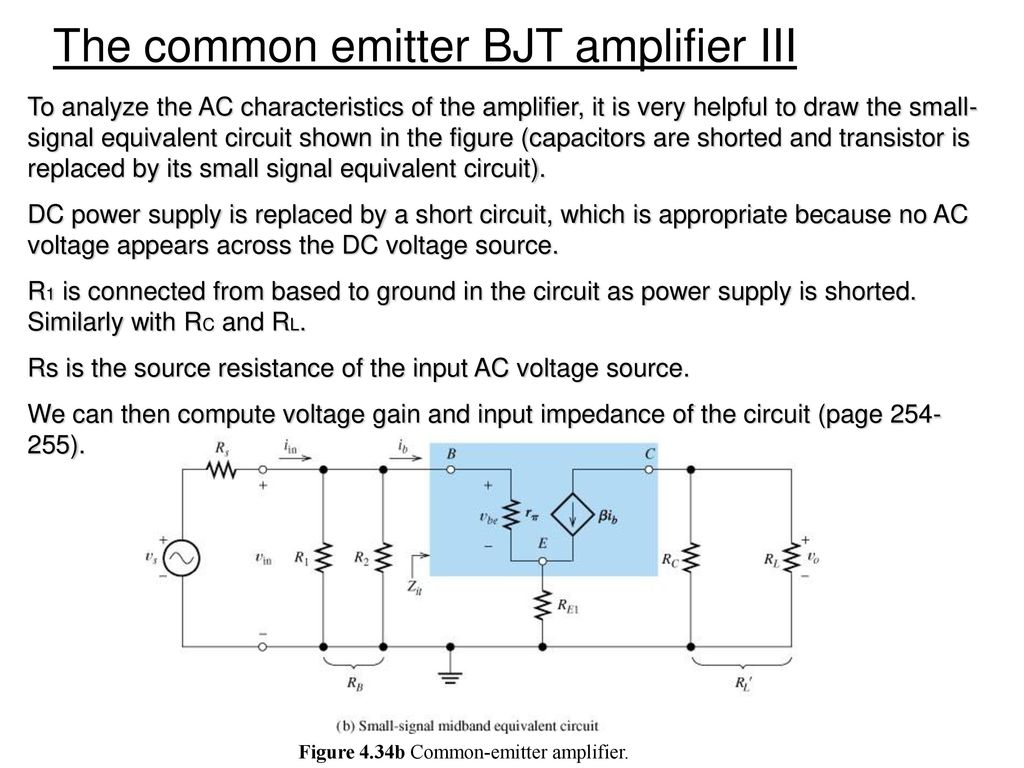 Chapter 3 Diode And Circuits Ppt Download Tutorial Part Commoncollector Amplifiers Sample Figure 434b Common Emitter Amplifier