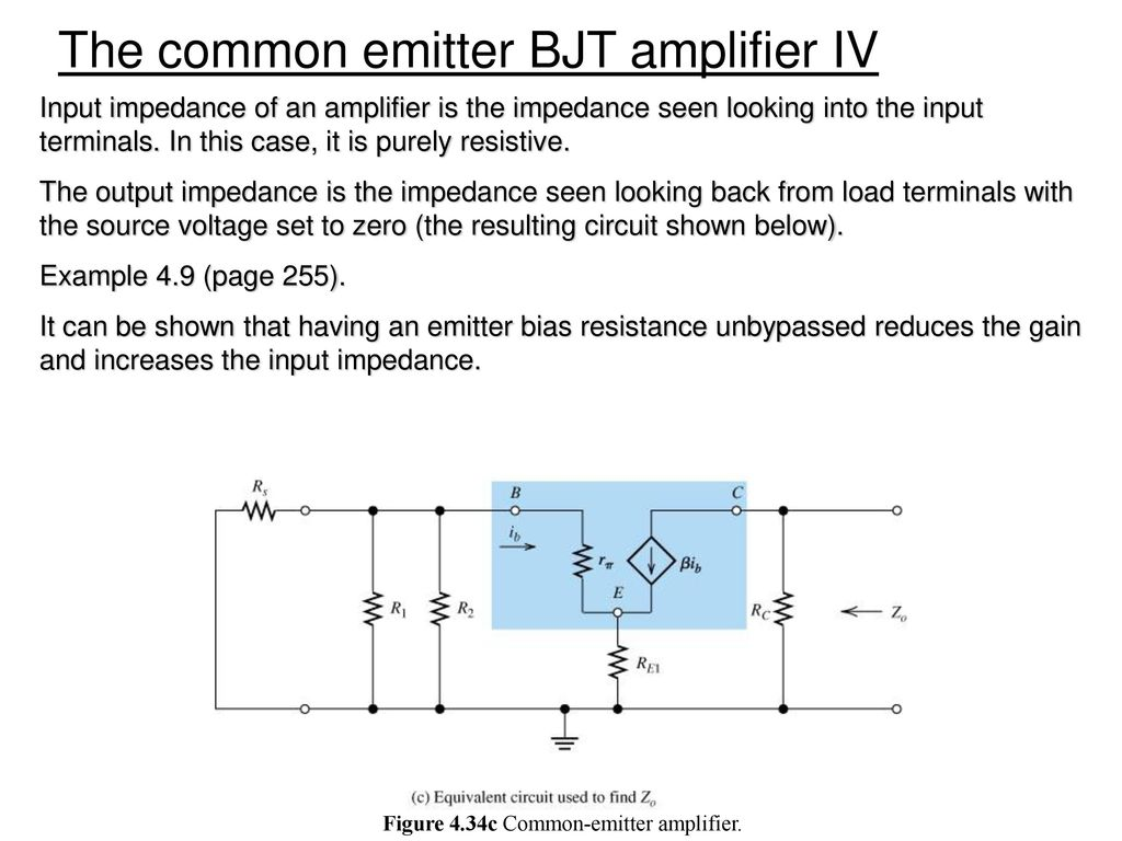 Chapter 3 Diode And Circuits Ppt Download Below Is A Transistor Circuit Which We Will Find The Midband Gain For 88 Figure