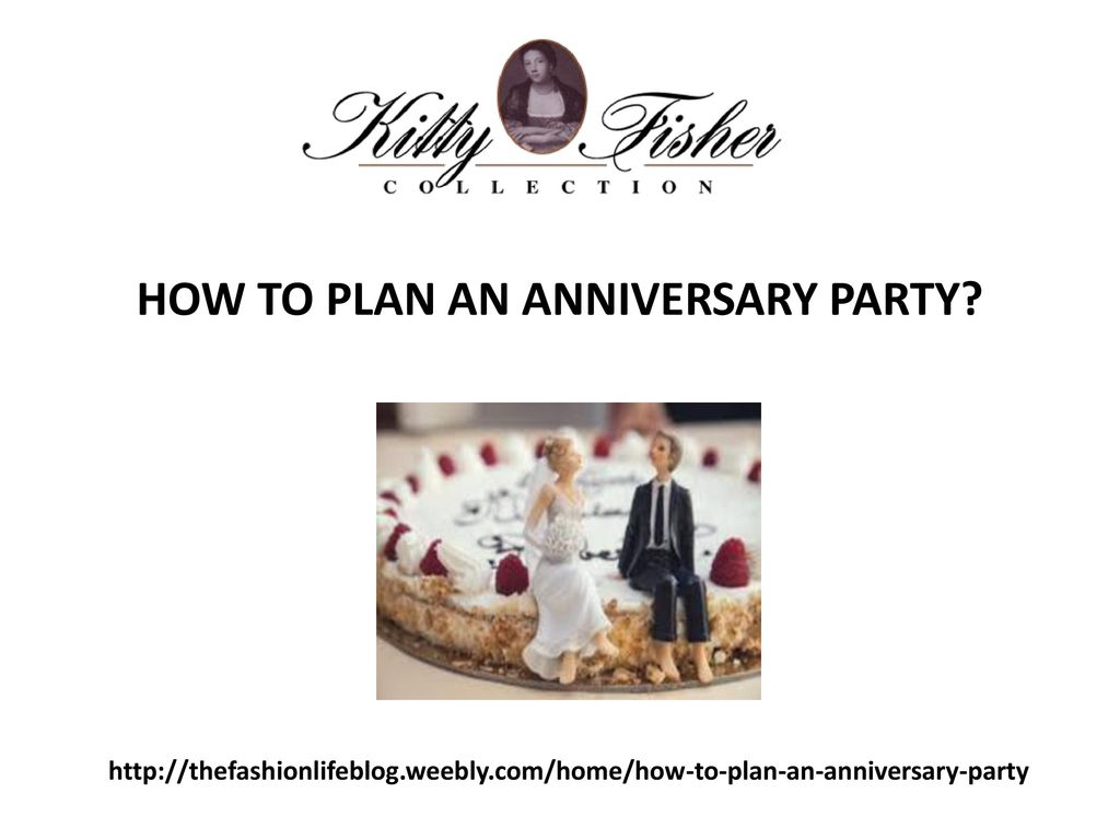 How to Plan an Anniversary Party