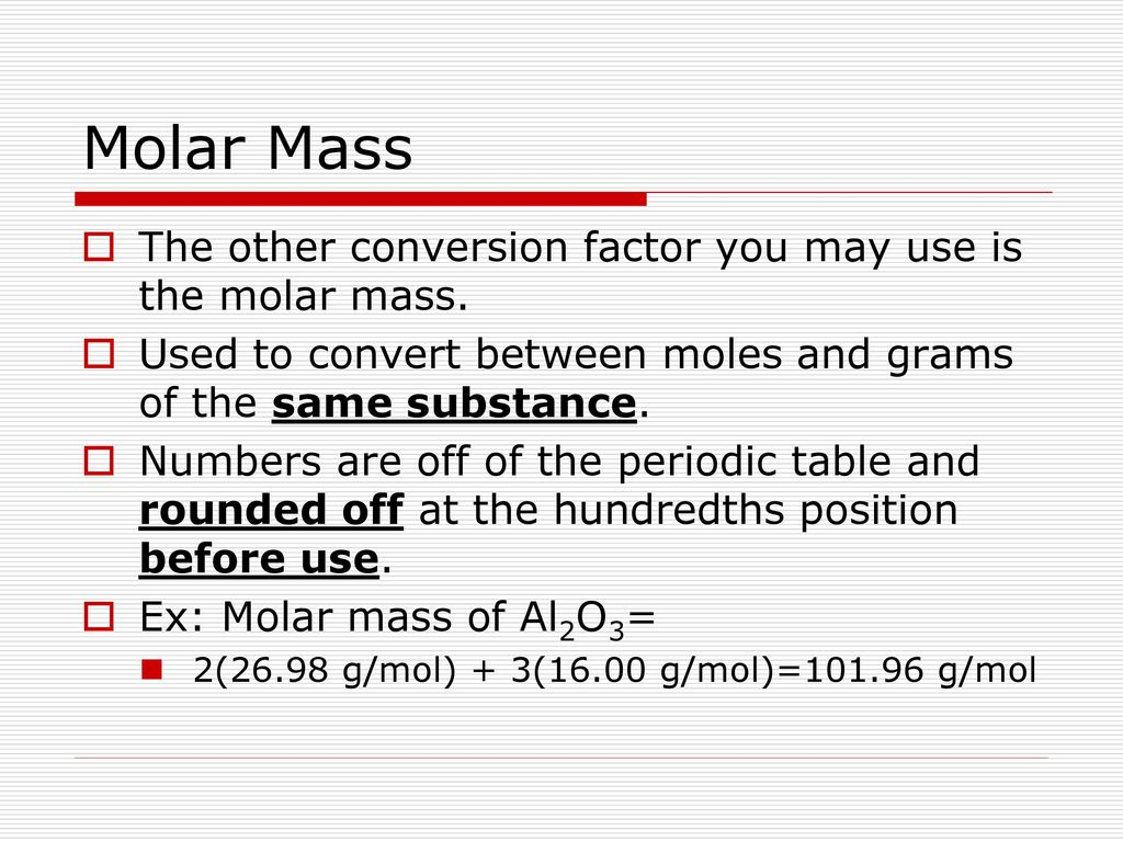 Mole review the blue slides are reviewing concepts with the mole 31 molar mass urtaz Images