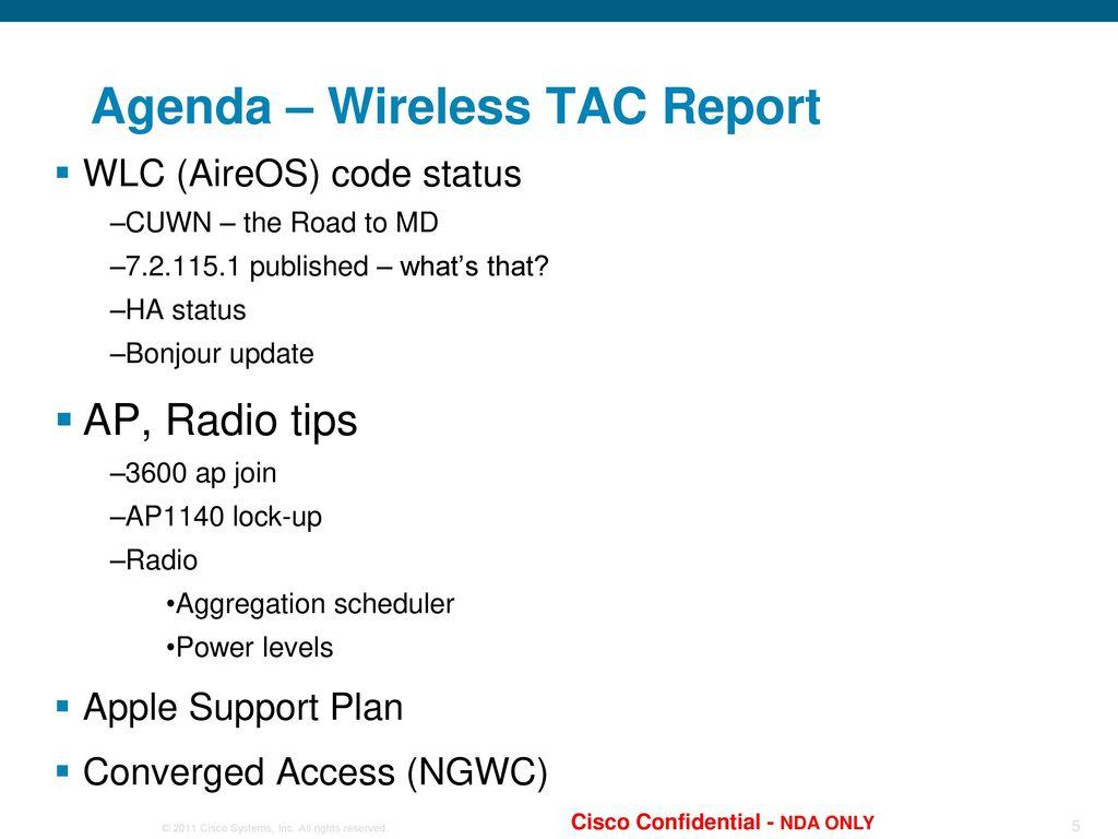 Wireless Partner TAC Tips April 30, ppt download