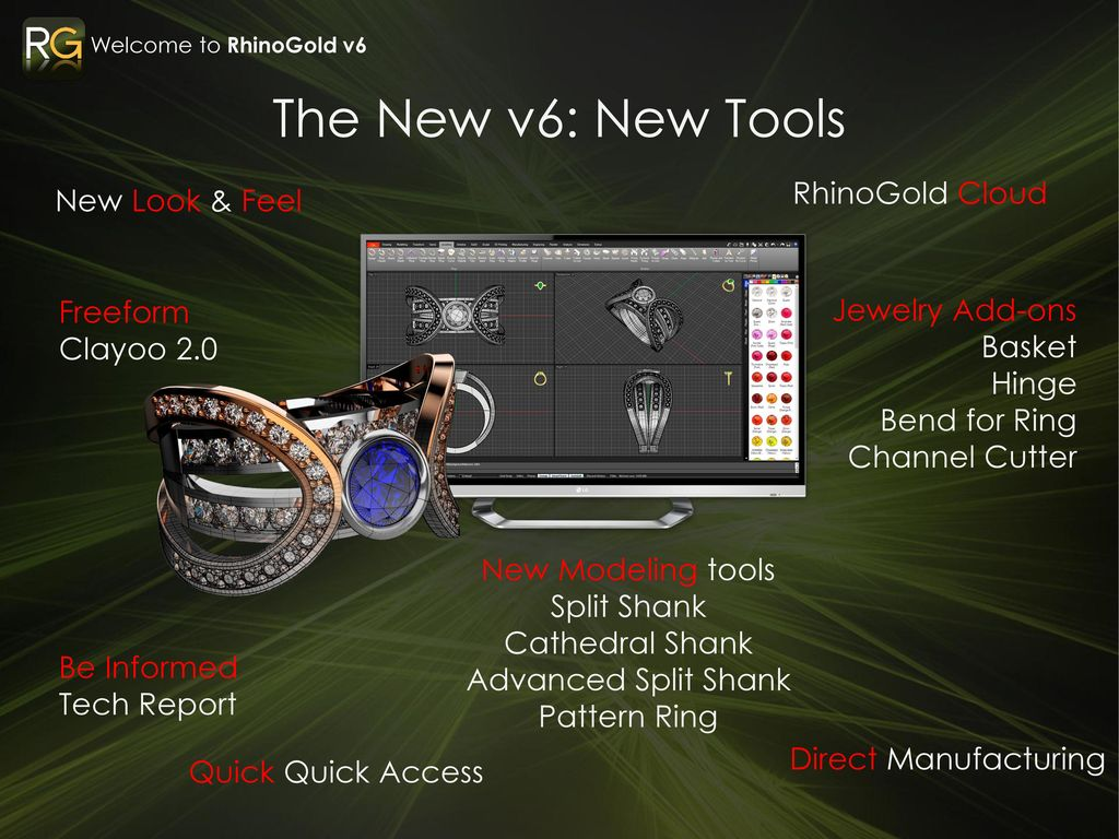 Welcome to v6 0 Jewelry and 3D go better together RhinoGold