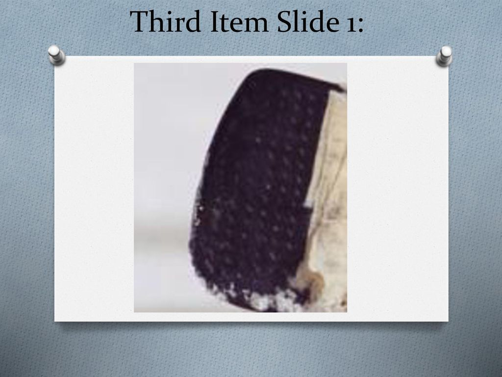Third Item Slide 1: