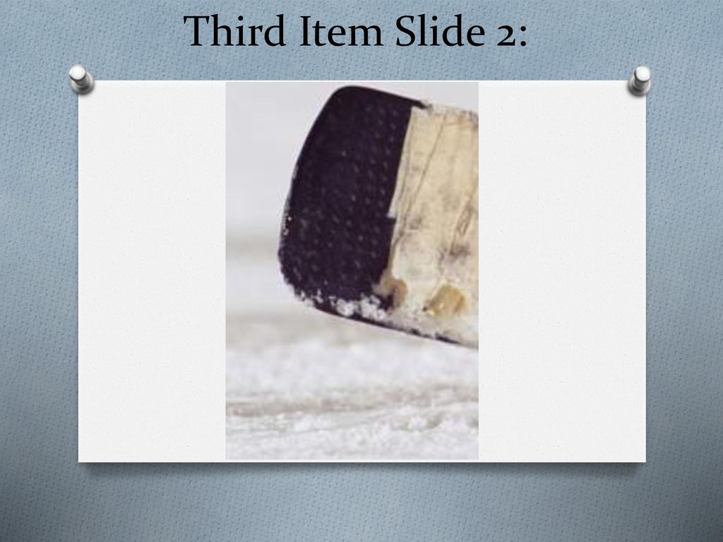 Third Item Slide 2: