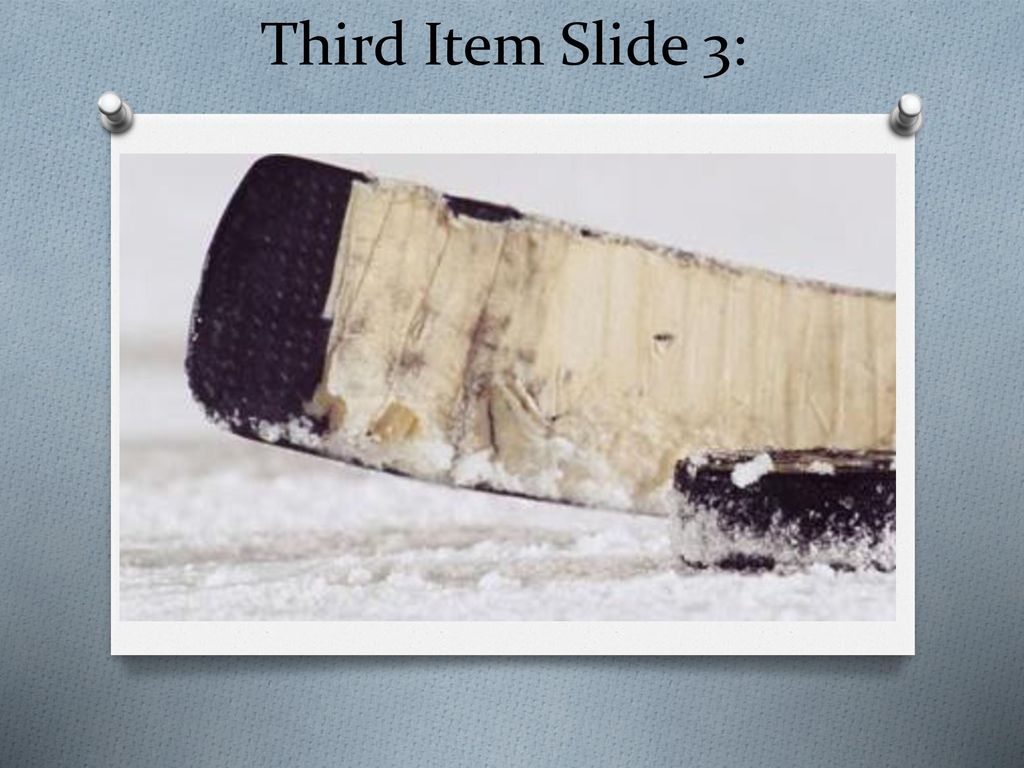 Third Item Slide 3: