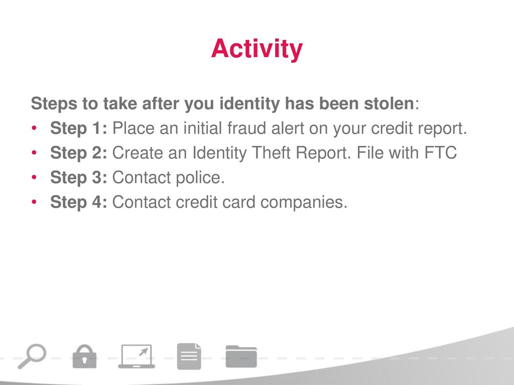 Protecting Your Identity Ppt Download