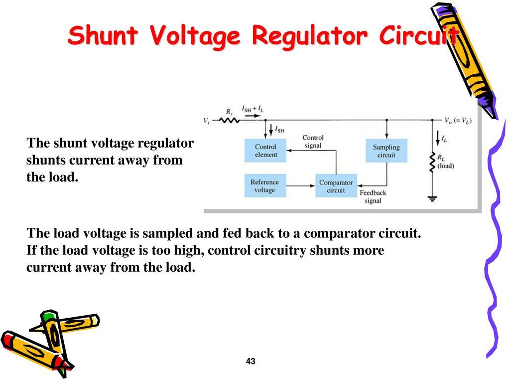Rectifiers And Filters Ppt Download Rectifier Regulator Circuit Shunt Voltage