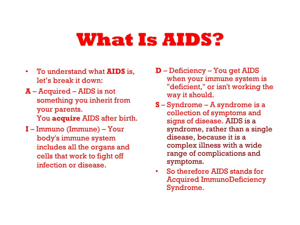 What is AIDS