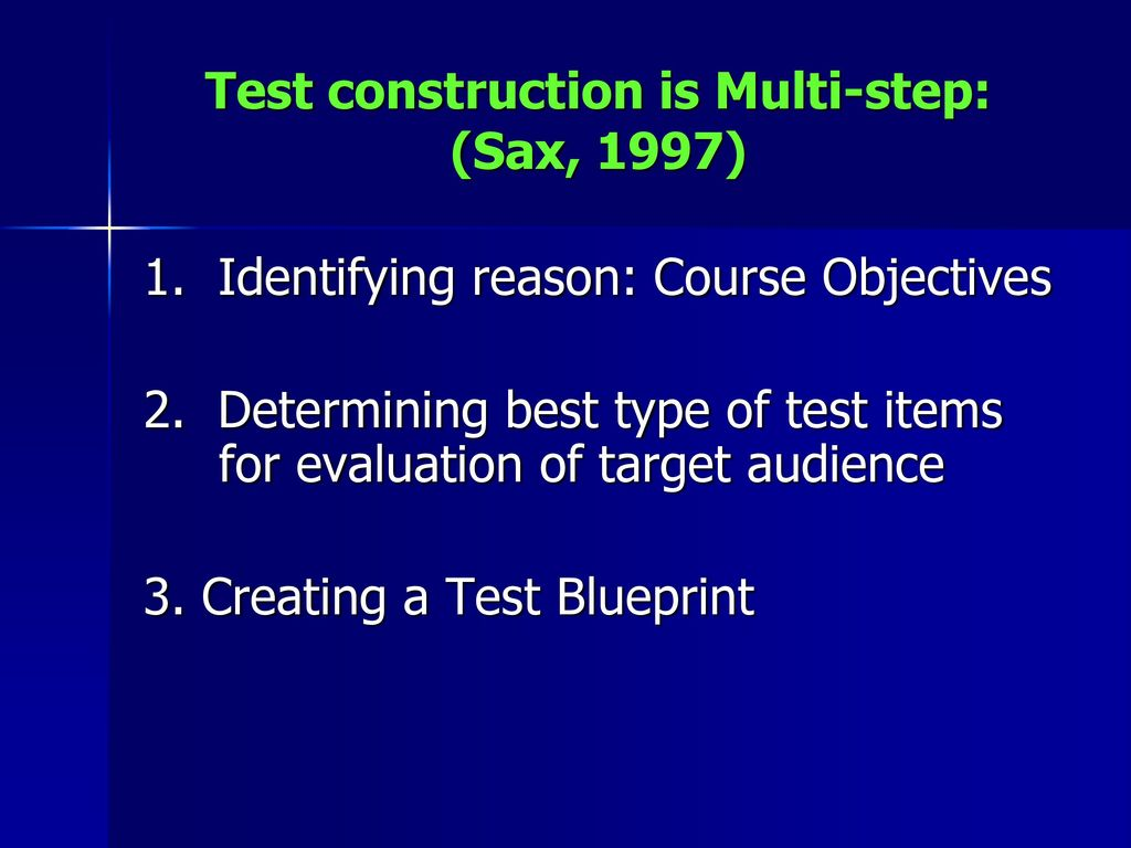Carolyn s merriman rn ms aprn ppt download 12 test construction malvernweather Choice Image